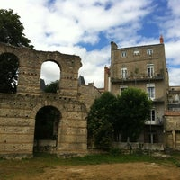 Photo taken at Palais Gallien by Vicky W. on 7/11/2012