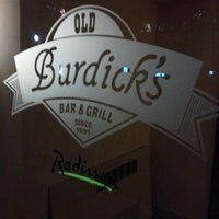 Photo taken at Old Burdick's Downtown by Sarah M. on 4/22/2012
