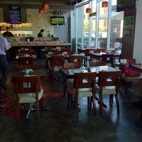 Photo taken at Yen Sushi Karaoke & Lounge by Paul on 8/18/2012