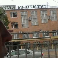 Photo taken at Нижнекамский Химико-Технологический Институт by Ильвина М. on 5/28/2012