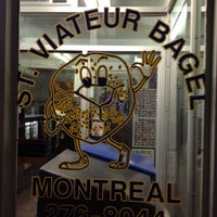 Photo taken at St-Viateur Bagel (La Maison du Bagel) by Tom F. on 5/3/2012