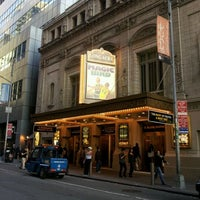 Photo taken at Longacre Theatre by kato s. on 5/12/2012
