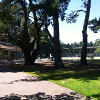 Photo taken at Bournemouth Gardens Tennis Centre by Fatih Ç. on 7/23/2012