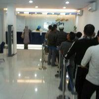 Photo taken at Bank Mandiri KCP Kertak Hanyar by Togaiii on 3/12/2012