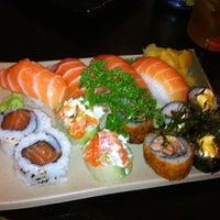 Photo taken at Flying Sushi by Grazzia G. on 7/12/2012