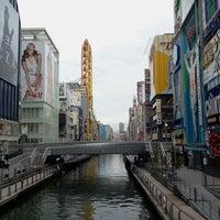 Photo taken at Ebisubashi Bridge by Yoshinori T. on 4/14/2012