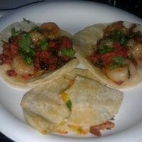 Photo taken at Dia De Los Tacos Cart by Jenn P. on 9/12/2012