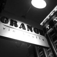Photo taken at Grange Vin & Bouffe by Guillaume B. on 3/2/2012