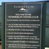 Photo taken at Summerlin tennis Club by Shittersfull RV T. on 9/4/2012