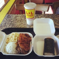 Photo taken at L&L Hawaiian Barbecue by Julian S. on 12/4/2011