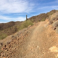 Photo taken at Sonoran Preserve - Sonoran Loop Trail by Jeff M. on 11/19/2011