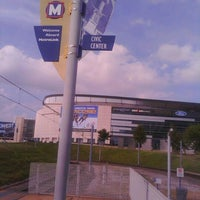 Photo taken at MetroLink - Civic Center Station by Cheree A. on 9/20/2011