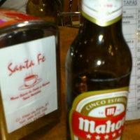 Photo taken at Café-Bar Santa Fé by Rosa S. on 1/12/2012