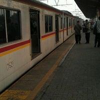Photo taken at Stasiun Depok Lama by Firmansyah S. on 8/18/2011