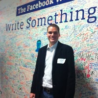 Photo taken at Facebook 1050 Building 2 by Fabio B. on 9/6/2011