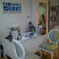 Photo taken at Chic Nails by Joanna L. on 12/1/2011
