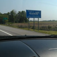 Photo taken at Kentucky / Tennessee State Line by Mashonda T. on 5/18/2012