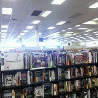 Photo taken at Books A Million by Giovanni S. on 1/6/2012