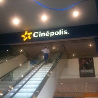 Photo taken at Cinépolis by Jorge H. on 4/30/2012