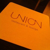 Photo taken at Union Restaurant & Lounge by Laura O. on 3/11/2011