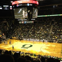 Photo taken at Matthew Knight Arena by Ethan H. on 1/9/2012