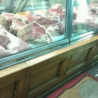 Photo taken at Ottomanelli's Meat Market by Lenny Z. on 11/19/2011