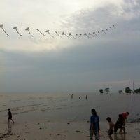 Photo taken at Pantai Kelanang by LittleKeong G. on 6/26/2011