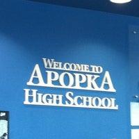 Photo taken at Apopka High School by Brenda on 3/18/2011