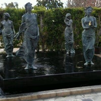Photo taken at Cerritos Sculpture Garden by Moana T. on 1/27/2012