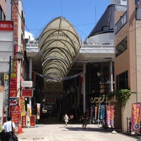 Photo taken at Hiroshima Hondori Shotengai by Yankinu on 8/19/2012