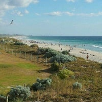Photo taken at Scarborough Beach by Walter on 1/14/2012
