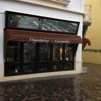 Photo taken at Henri Le Roux Chocolatier Caramelier by laure on 7/13/2012