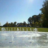 Photo taken at Piedmont Park Legacy Fountain by Mr. G. on 10/15/2011