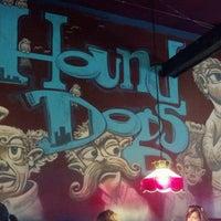 Photo taken at Hounddog's Three Degree Pizza by Dustin G. on 6/19/2012