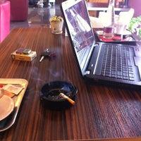 Photo taken at Galery Caffe by Šimon Š. on 3/24/2012