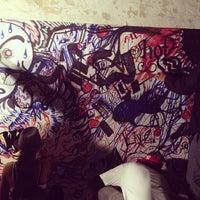Photo taken at #DigATL-Sharpie Slam: A Live Art Battle by Katie M. on 11/10/2011