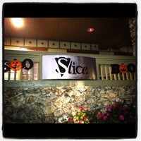 Photo taken at Slice Pizza & Brew by Juhmad H. on 10/17/2011