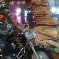 Photo taken at Red Rock Harley Davidson by Leah on 3/1/2012