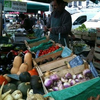 Photo taken at Marché de la Petite Hollande by Lulu L. on 11/5/2011