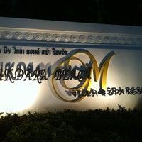 Photo taken at Mukdara Beach Villa And Spa Resort by Markus H. on 2/17/2011