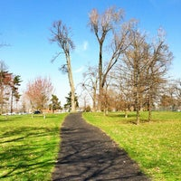 Photo taken at Delaware Park by Andrew H. on 3/22/2012