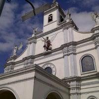 Photo taken at San Miguel Church by Jillmer D. on 1/28/2012