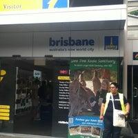 Photo taken at Brisbane Visitor Information Centre by Jasmin M. on 2/22/2012