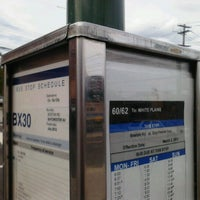 Photo taken at MTA MaBSTOA Bus Bx16 / Bx30 and Bee-line Route 52 / 60 / 61 / 62 at Dyre Ave / Boston Road (US 1) by 0zzzy on 8/21/2012