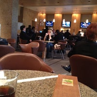 Photo taken at American Airlines Admirals Club DFW-A by Josh B. on 1/17/2012