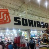 Photo taken at Soriana Hiper El Palmar by Juan A. on 7/8/2012