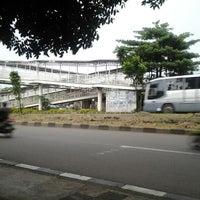 Photo taken at Halte TransJakarta Bermis by Abi E. on 3/29/2012