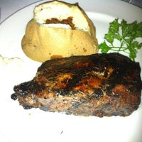 Photo taken at Barberian's Steak House by Stephen W. on 6/8/2012