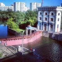 Photo taken at Шлюз № 9 канала имени Москвы by Den S. on 6/17/2012