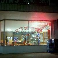 Photo taken at Jim's Donut Shop by Tim M. on 11/8/2011